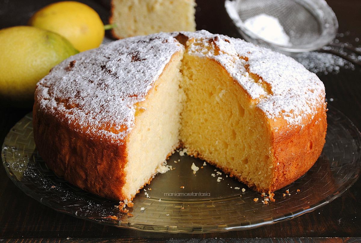 torta limone yogurt con ricotta