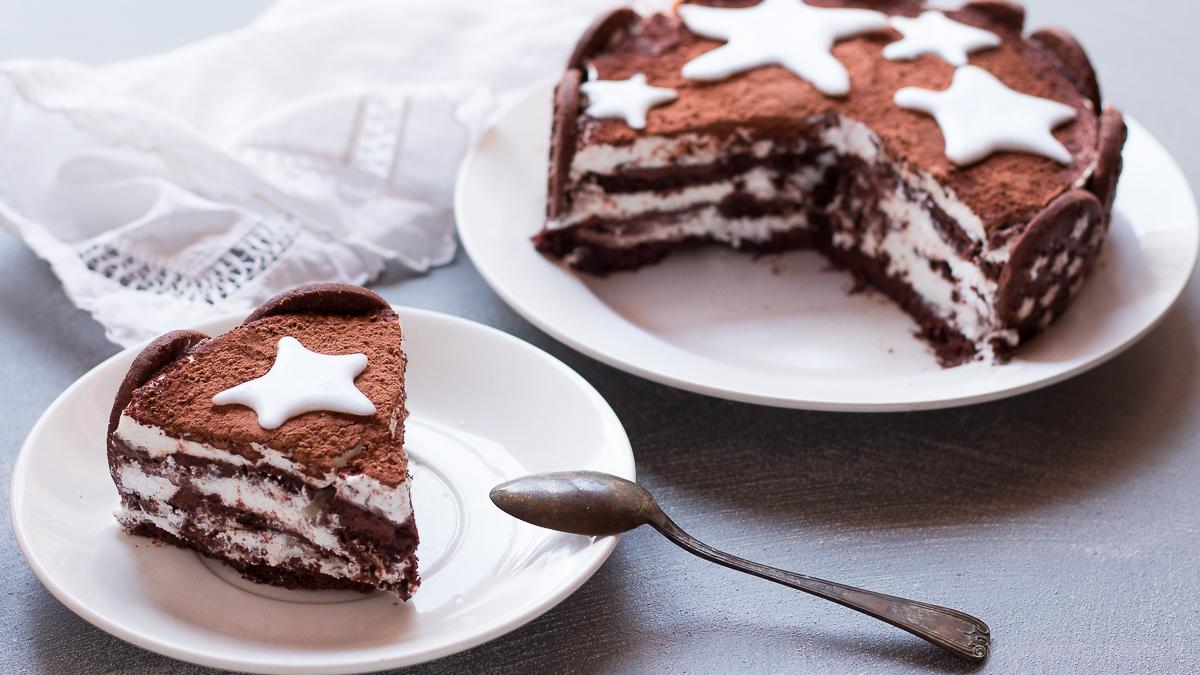torta di pan di stelle senza cottura