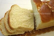 Pan brioche con crema nell'impasto