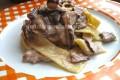 Pappardelle ai funghi, un primo piatto cremoso senza panna