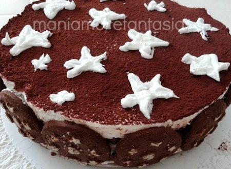 Torta pan di stelle, ricetta senza cottura
