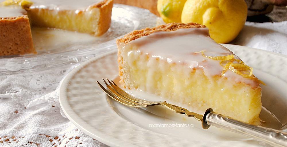 torta al limone crostata limone e limoncello