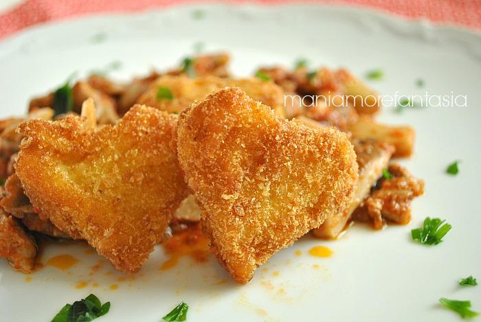 cuori di tagliatelle cuoricini di pasta, ricetta per S. Valentino