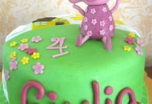 Torta decorata Peppa pig e un regalo per voi