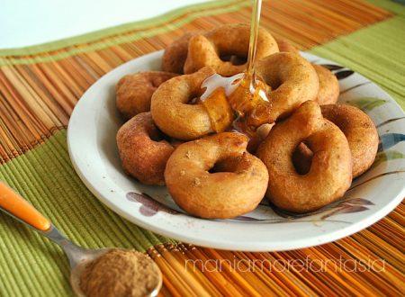 Ciambelline semplici miele e cannella (Cutumè)