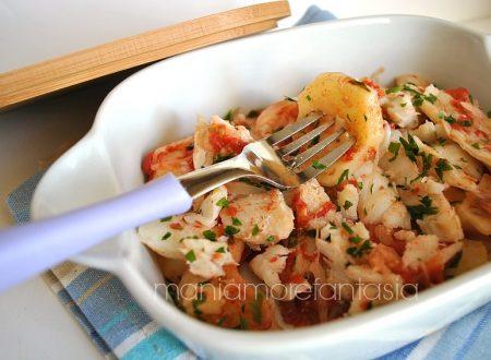 Teglia di baccalà e patate