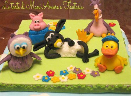 Torta decorata Timmy Time