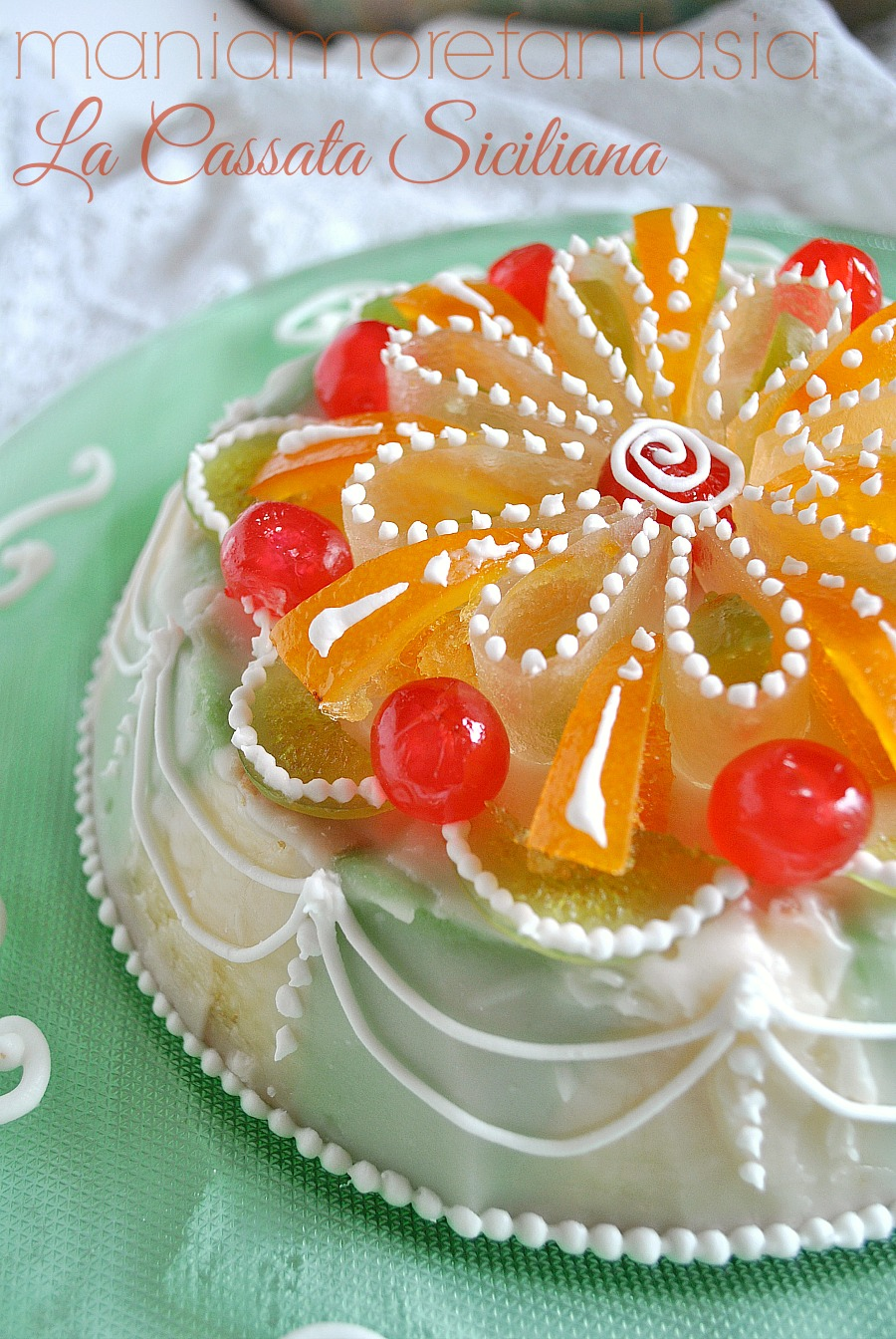Sicilian Cannoli Cake Recipe