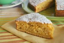 Pan d'arancio light, con farina integrale