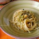 Spaghetti al ragù di verdure