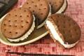 Biscotto gelato alla vaniglia