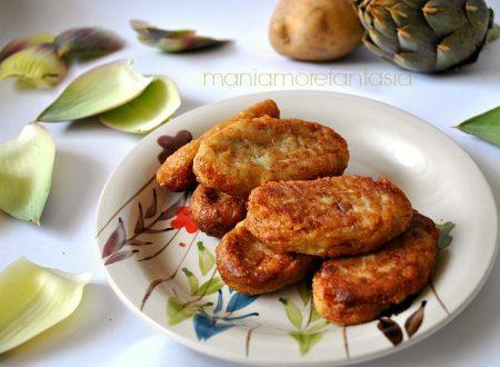 Crocchette di carciofi e patate