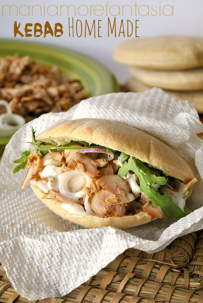 Ricetta Per Un Buon Kebab.Kebab Fatto In Casa Ingredienti Saporiti Per Un Panino Rustico E Goloso