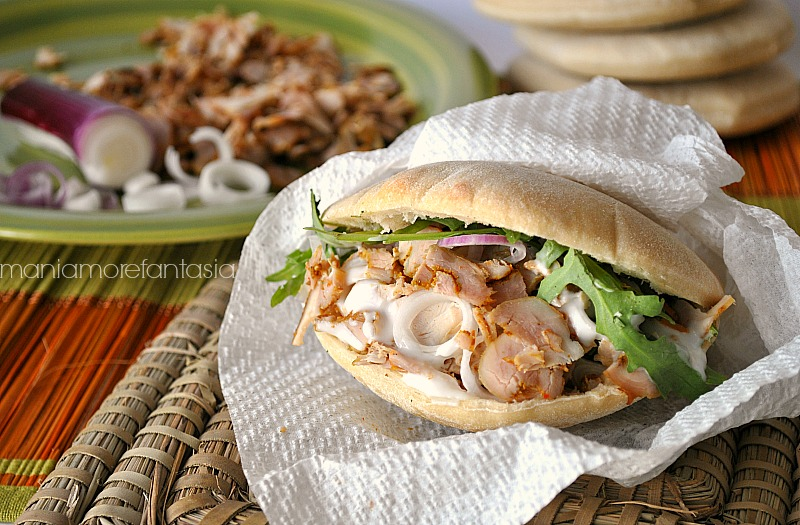 kebab fatto in casa pane arabo ricetta mani amore e