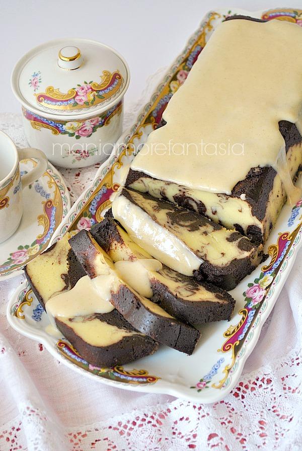 mattonella al cioccolato, vaniglia e cocco