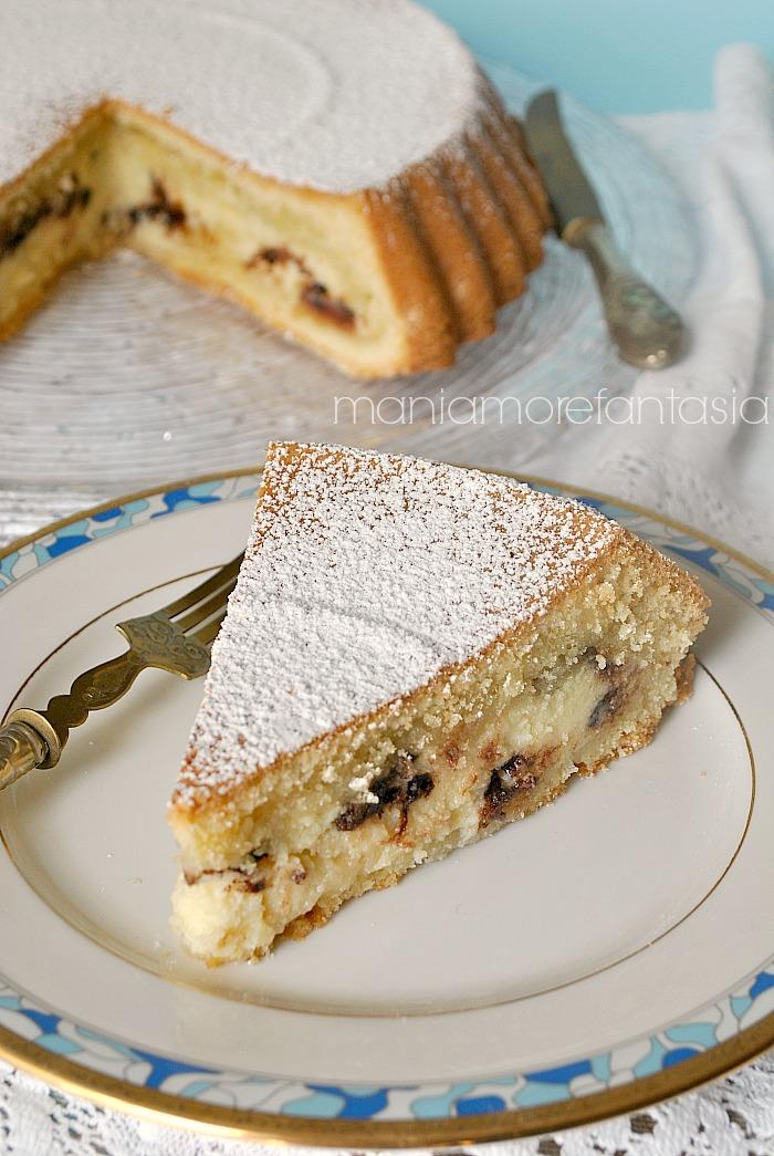 Torta con crema di ricotta soffice e golosa for Ricette romane antiche