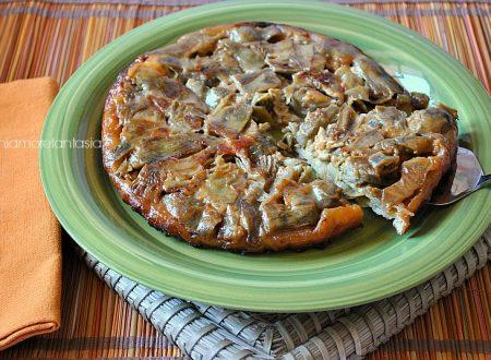Torta salata carciofi e gorgonzola