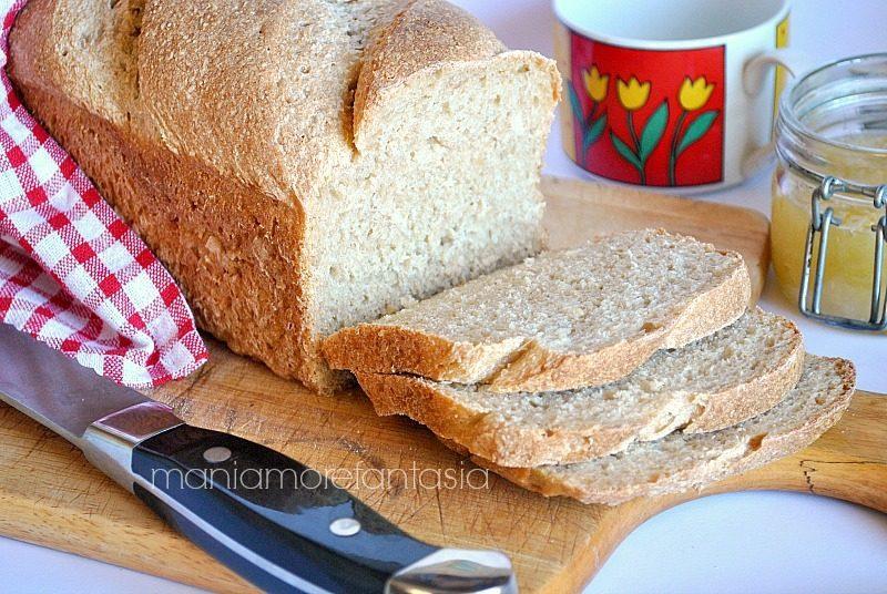 panbauletto integrale morbido di pane integrale