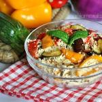 couscous vegetariano con ortaggi estivi