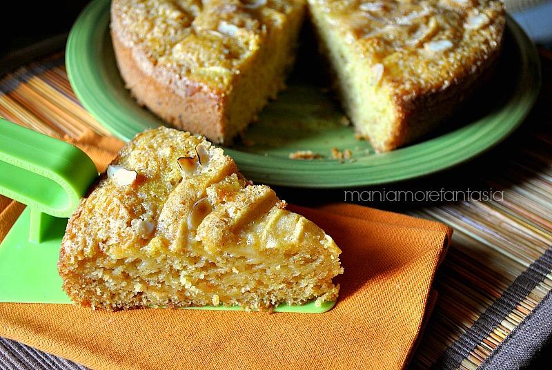 torta di mele con farina integrale, ricetta senza uova