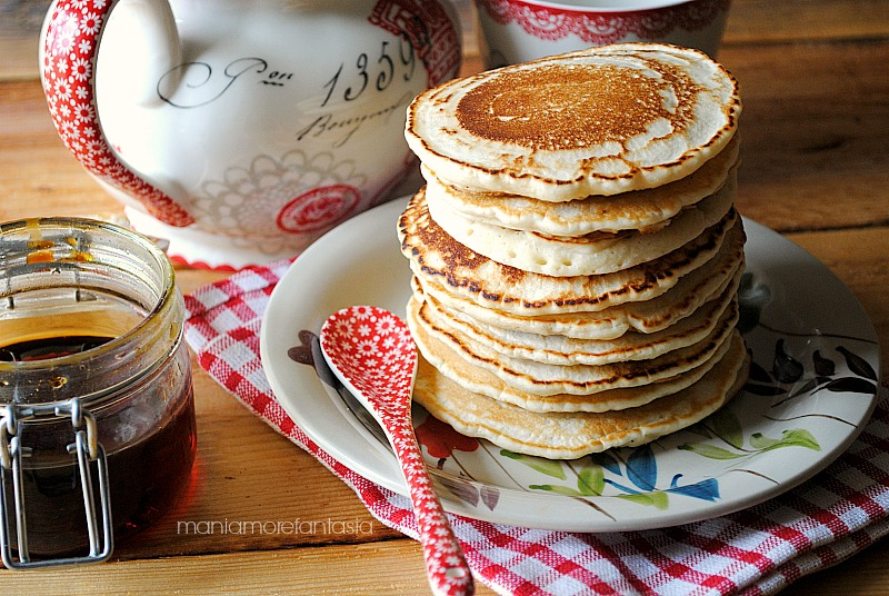 Ricetta Pancake Uova Farina E Latte.Pancake Light Senza Uova E Senza Latte Ricetta Light