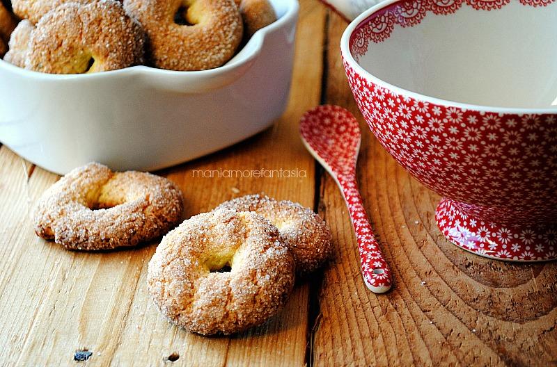 biscotti da inzuppare per il latte, perfetti per l'inzuppo