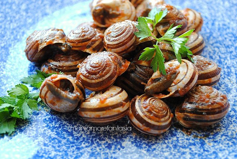 Lumache alla siciliana come cucinare le lumache for Cucinare le lumache
