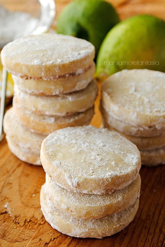 biscotti al limone inglesi senza uova, ricetta lemon meltaways
