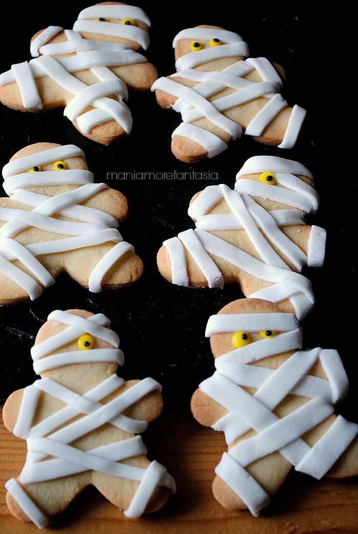 Semplici biscotti per halloween ricetta facili