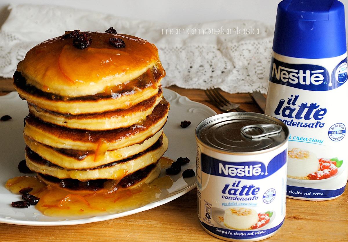 Favorito Pancake al latte condensato | ricette latte condensato CF77