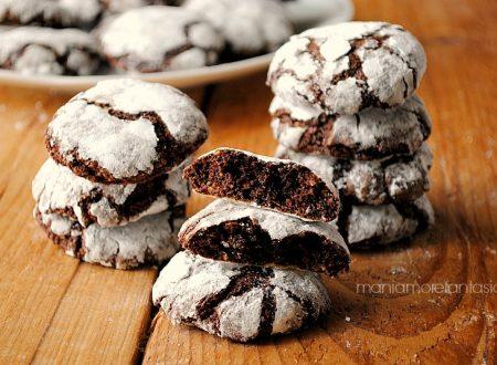 Ricciarelli al cioccolato fondente