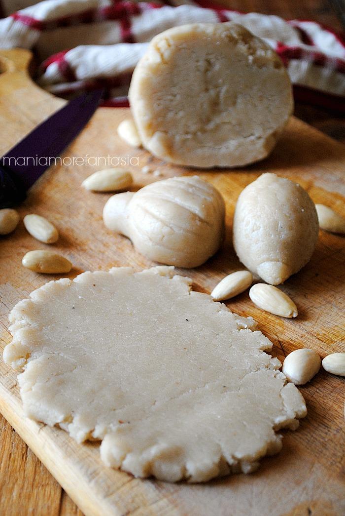 pasta di mandorle ricetta siciliana, mani amore e fantasia blog