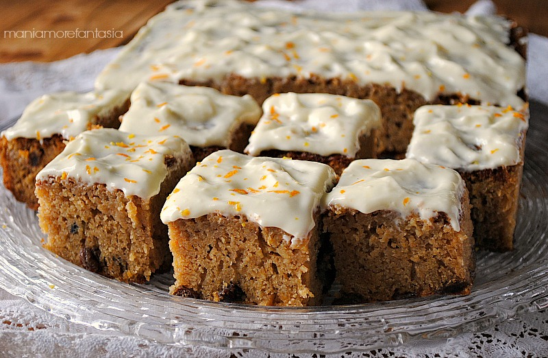torta di zucca e arancia, ricetta con zucca cruda