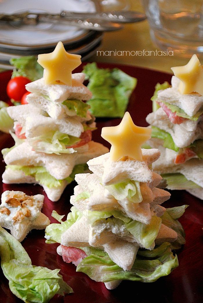 Antipasti Natalizi A Forma Di Albero Di Natale.Alberelli Di Pancarre Farciti Ricetta Antipasti Natalizi Facili E Golosi