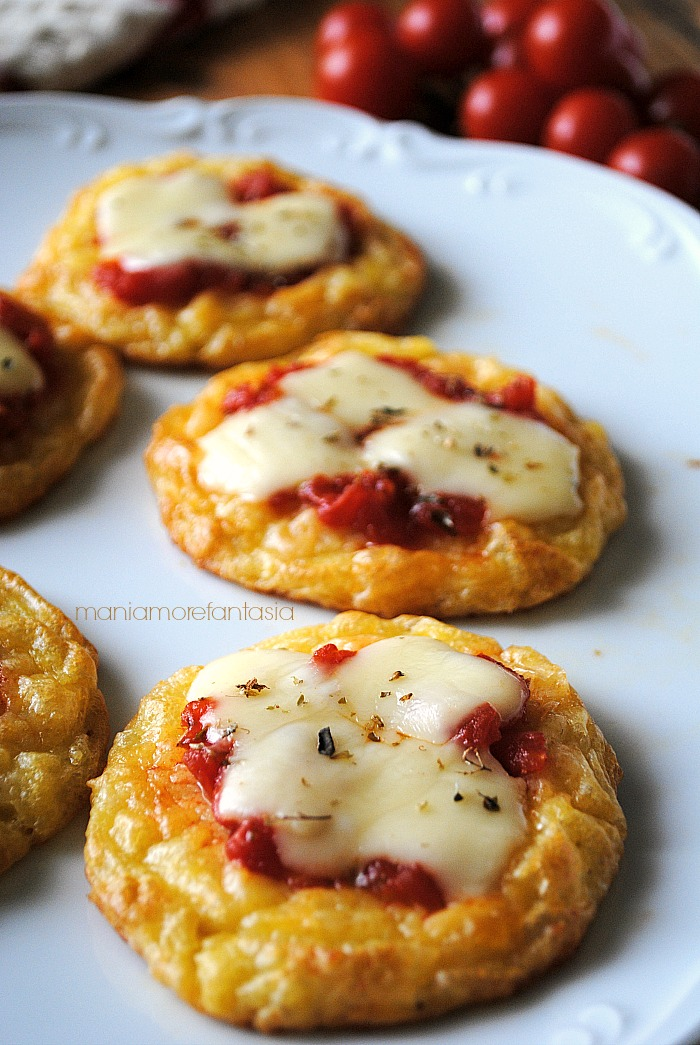 Pizzette di patate ricette con le patate maniamorefantasia for Ricette con patate