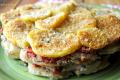 Sformato di patate e alici (o sardine) alla mediterranea