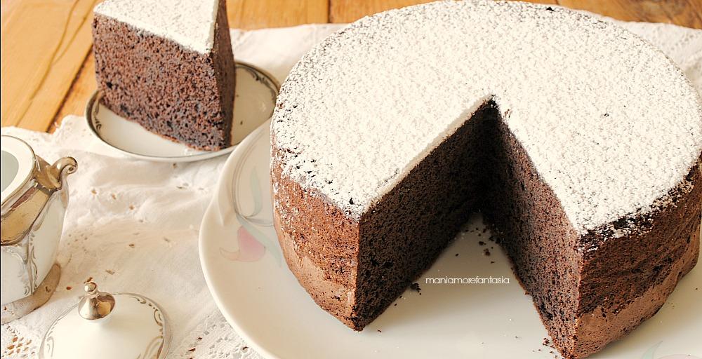 Pan di spagna cacao e panna nell 39 impasto ideale per torte da farcire - Differenza panna da cucina e panna fresca ...