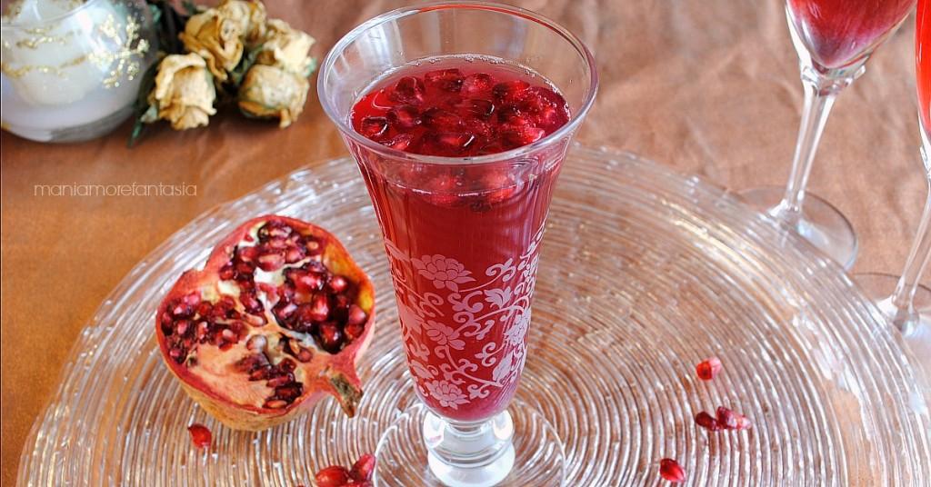 cocktail di spumante al melograno