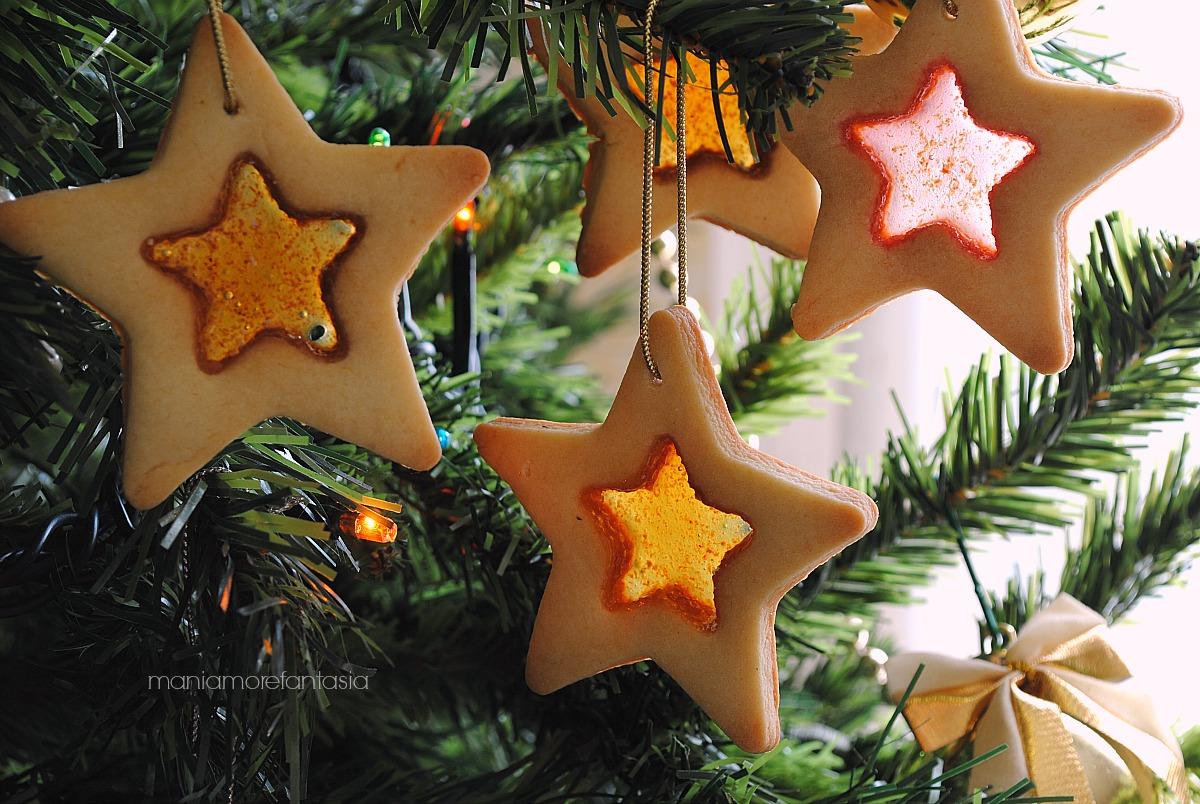 biscotti effetto vetro semplici