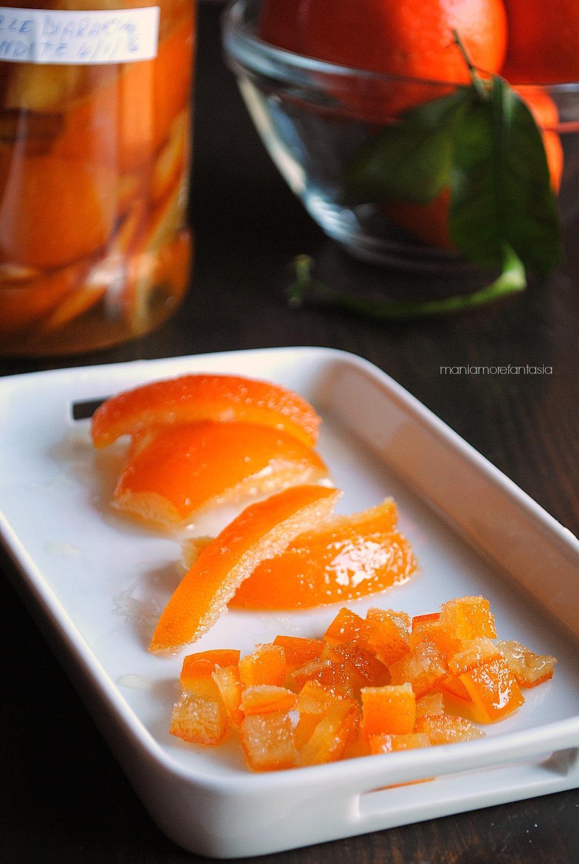 scorze d'arance candite