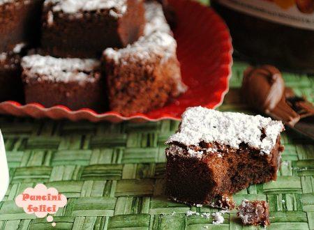 Brownies alla nutella con due ingredienti