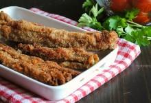 Cardi fritti senza pastella