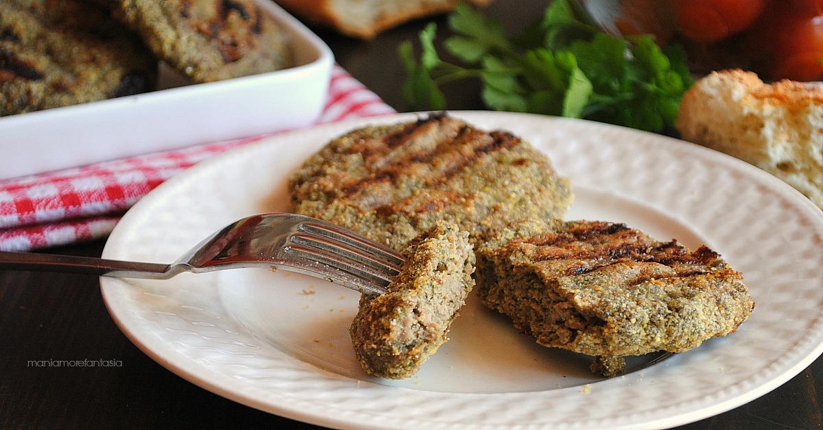 Top HAMBURGER di spinaci con carne, secondo piatto buono anche al forno! VJ12