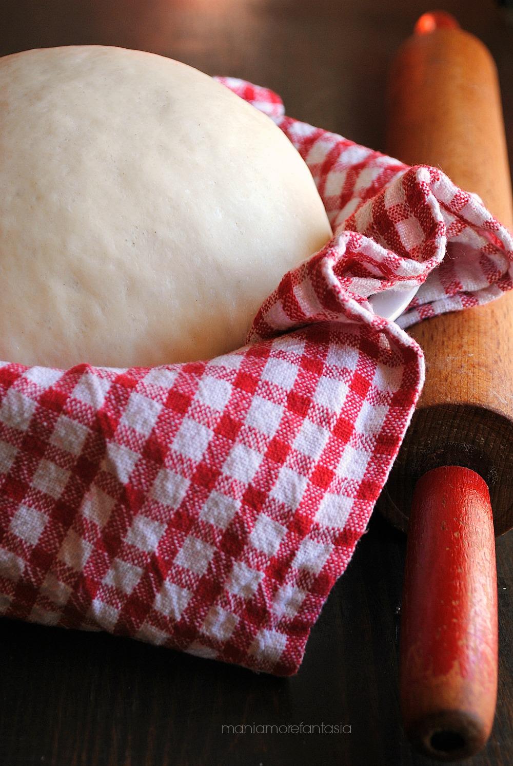 Impasto per rosticceria siciliana senza uova e senza latte - Impasto per tavola calda siciliana ...
