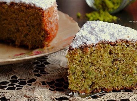 Sponge cake al pistacchio