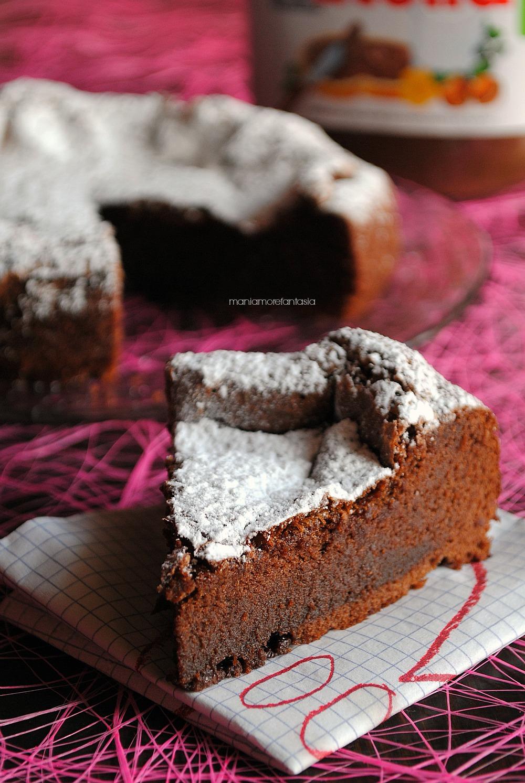 torta alla nutella con due ingredienti