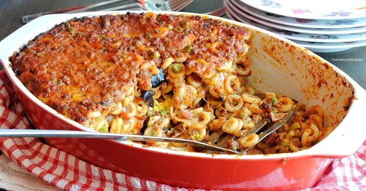 pasta al forno siciliana, timballo di anelletti