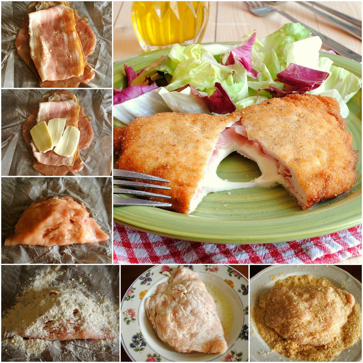 cordon bleu di pollo formaggio e prosciutto