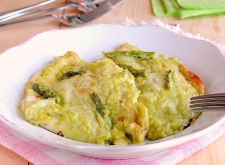 Crespelle con asparagi, una ricetta semplice
