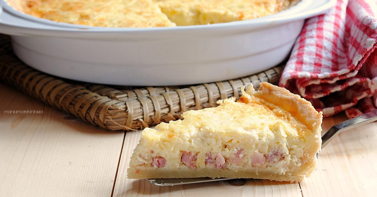 Quiche lorraine ricetta originale della torta salata francese più nota